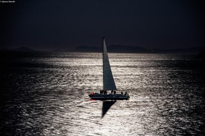 Sailing at night