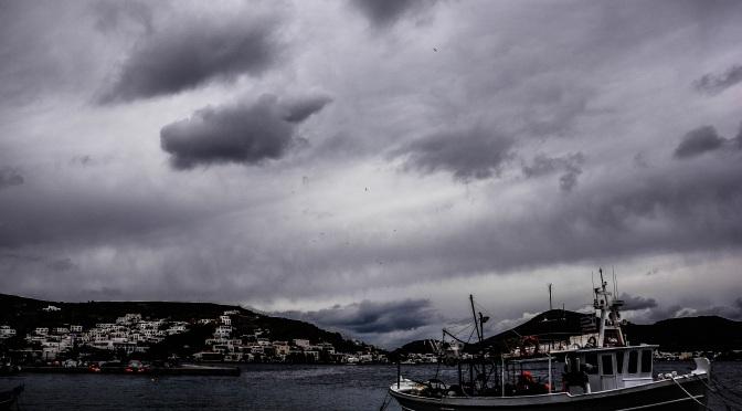The clouds brings rain..