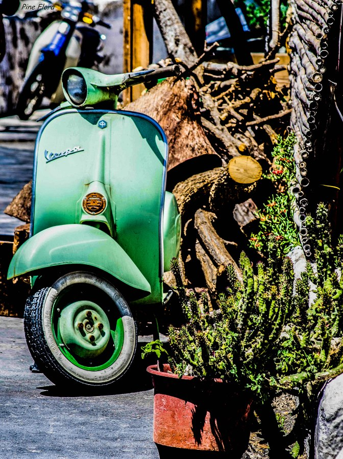More than just a MACHINE..Vespa is a beauty!