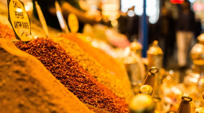 Spices in Bazaar